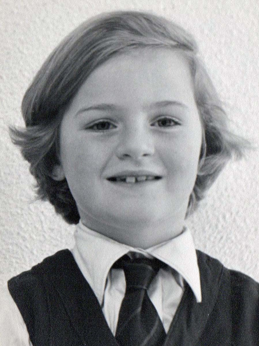 Debbie Taylor in her tomboy days