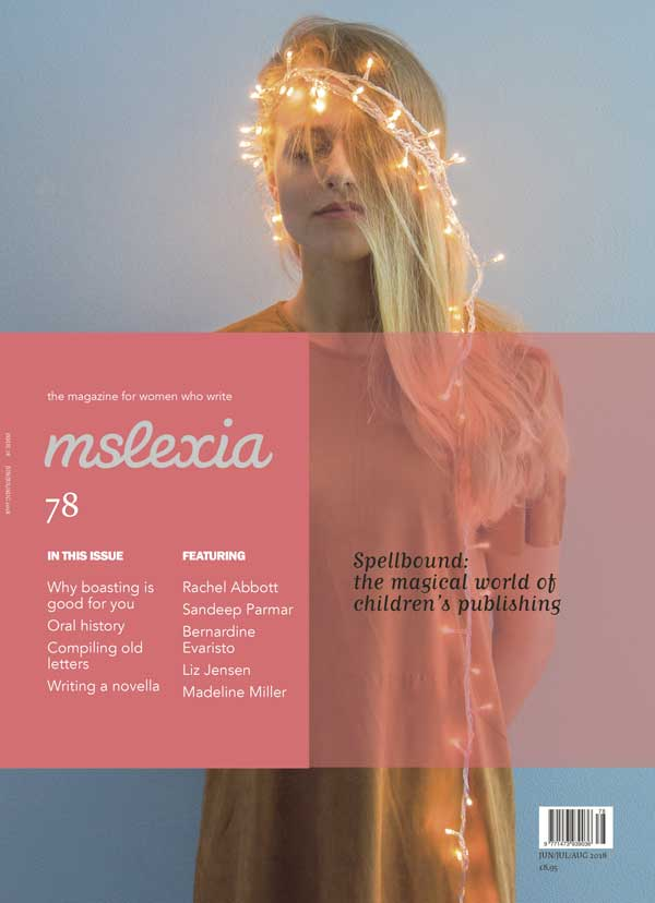 mslexia issue 78 cover design